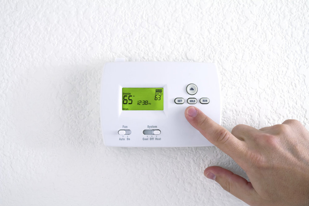 Setting your thermostat between 60-67 degrees may be help with falling asleep quicker.  Image: iStock