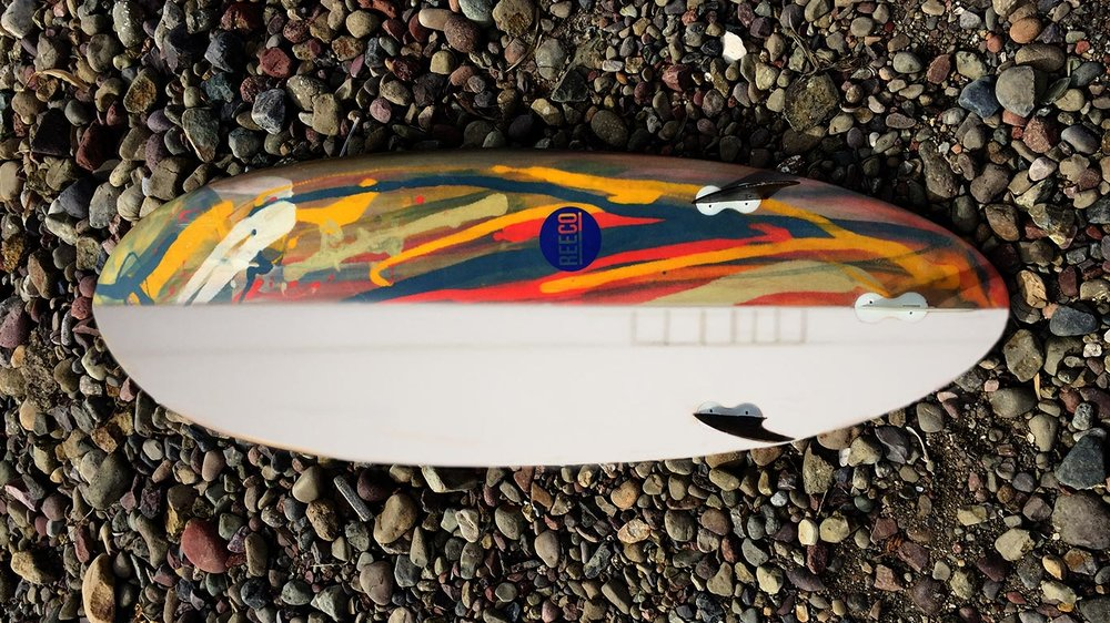 Upcycled Surfboards