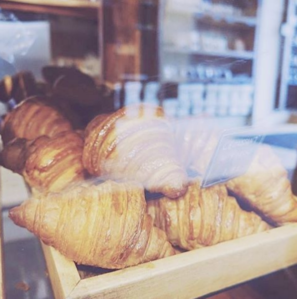 Croissants on Montreal's plateau by @sourring