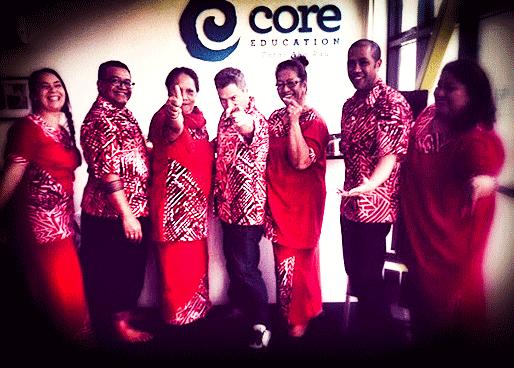 The Pasifika Team celebrating Tongan Language week
