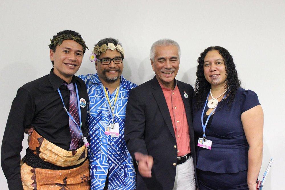 Pacific Day at the IP Pavilion with President Ang Tong of Kiribati 2015