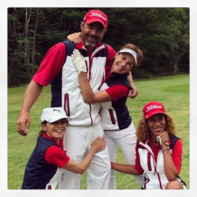 TROPHÉE Madame figaro ! Presque la même équipe... Super moment ⛳️ - - - #golf #golfer #golfpro #golf3 #golfing #golf1 #golfislife #womenwithdrive #golfbabes #taylormadegolf #iphone #legsout #golfchannel #golfday #wwd #golfers #golfstagram #golfporn #golf7 #golfcart #babesofinstagram  #porsche #hissalot #repost #golfboss #golf #golfaddict #swing#cover#⛳️
