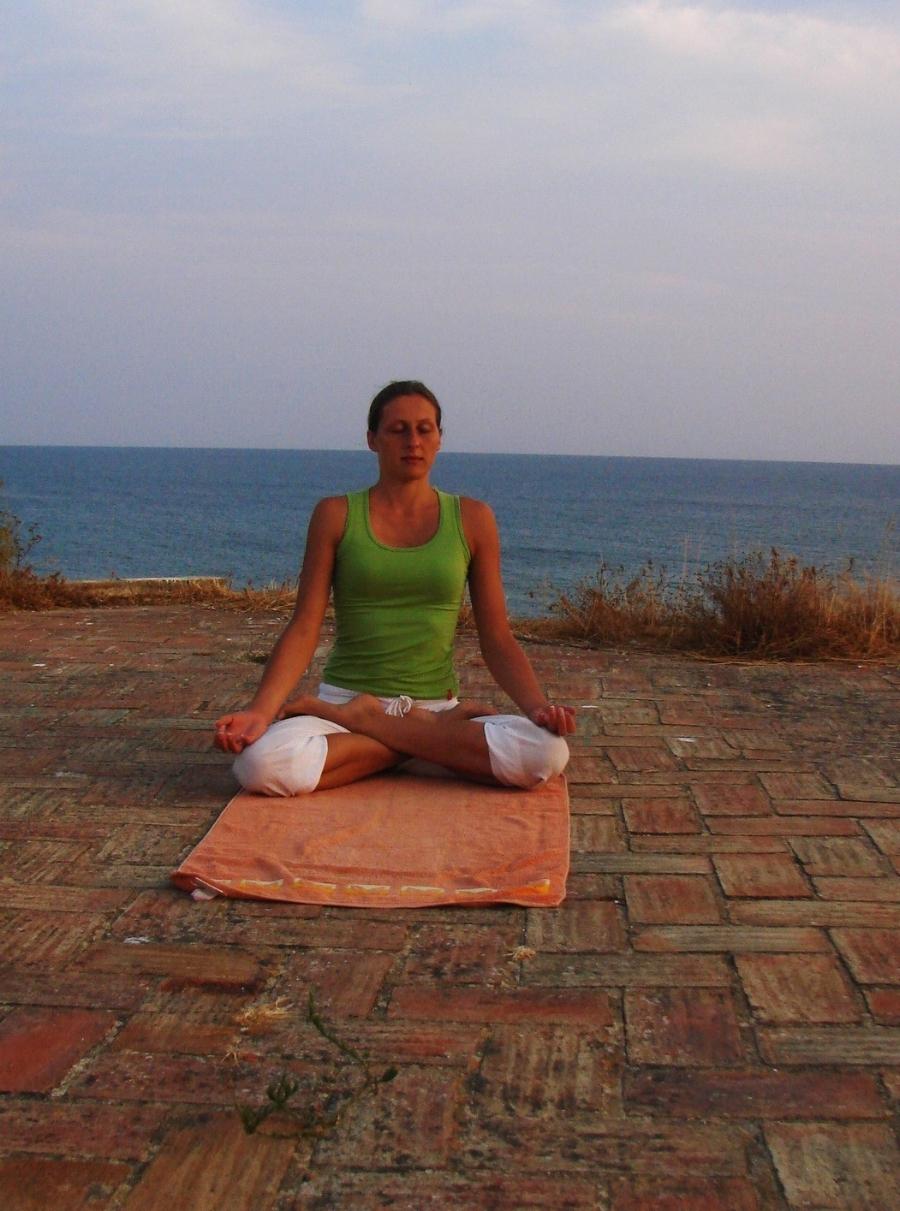 I really look forward to outdoor yoga and meditation