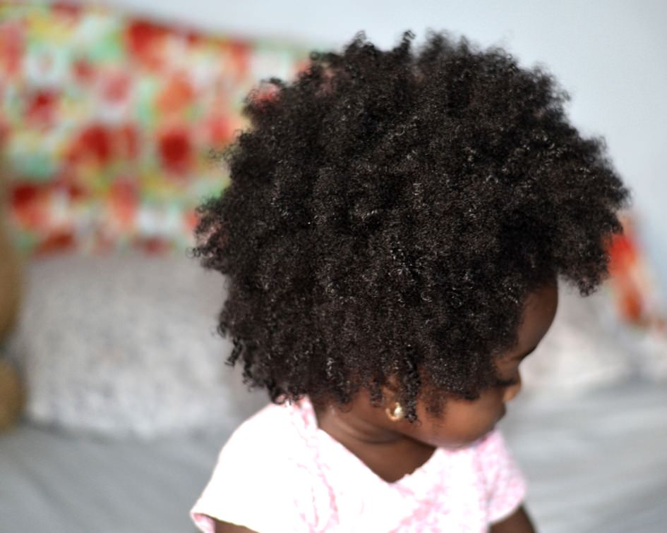 Make your child's natural hair soft and manageable
