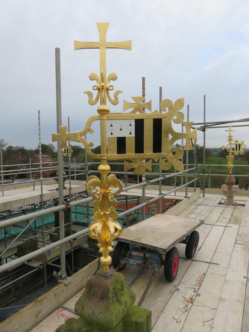 During works: Pinnacle