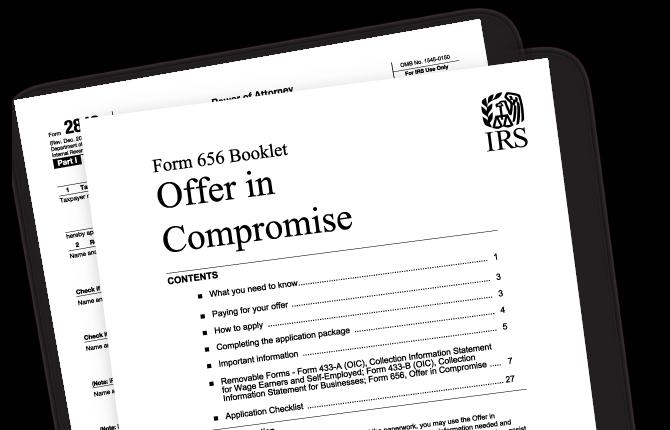 Settle Tax Debt Through an Offer in Compromise -