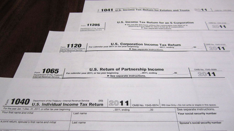 Previous Years Non-filed tax returns -