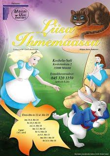 Liisa Ihmemaassa (2010) - Pikkuvanha Liisa tipahtaa kaninkoloon ja sitä kautta outoon maailmaan, jossa totutut säännöt kääntyvät kertaheitolla päälaelleen. Ohjaus: Janne Salminen