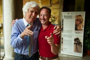 Marc De Tollenaere mit Douglas Kirkland
