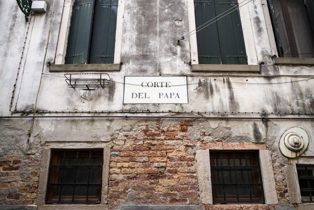 Corte del Papa, a Castello