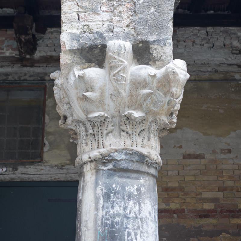 Il capitello bizantino di Corte Muazzo a Venezia