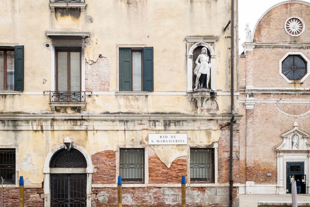 """La """"Casa di Otello"""" ai Carmini."""