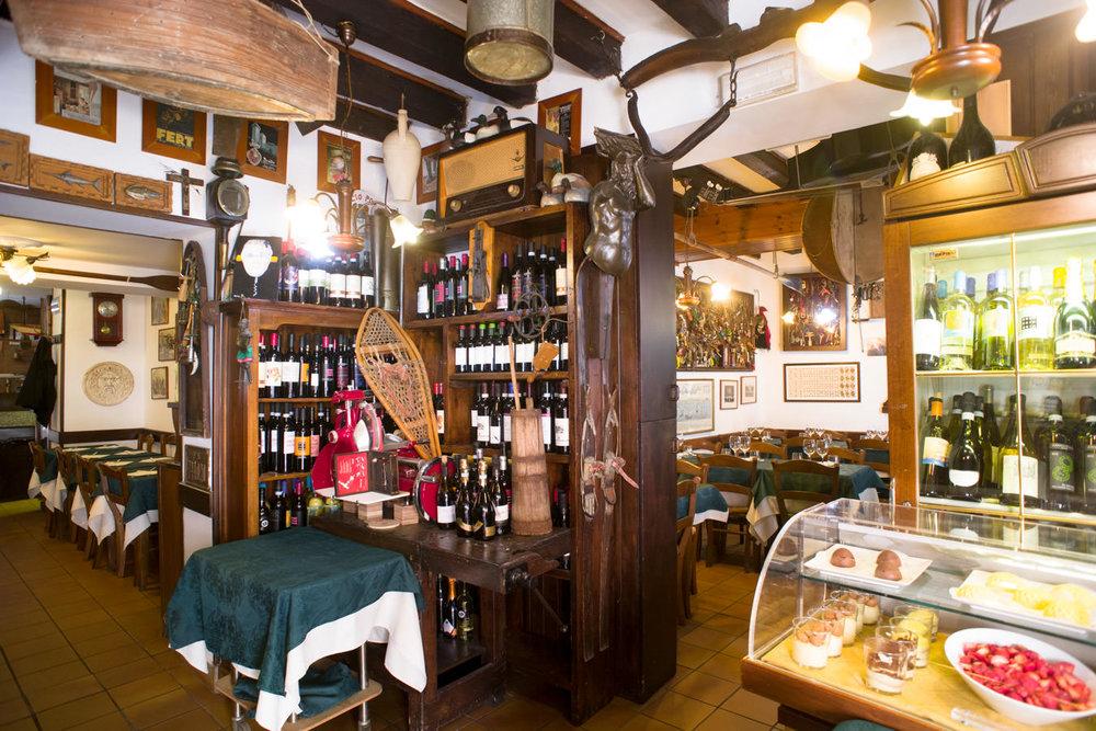 Trattoria, pizzeria Al Vecio Portal, Castello
