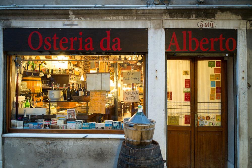 Osteria da Alberto, à Cannaregio