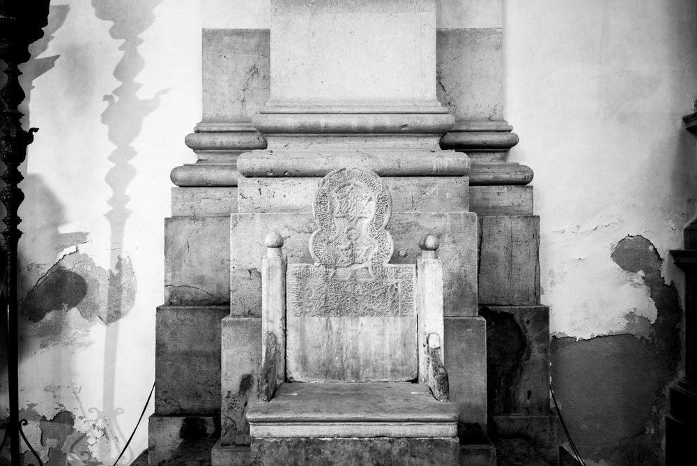 Le siège de saint Pierre