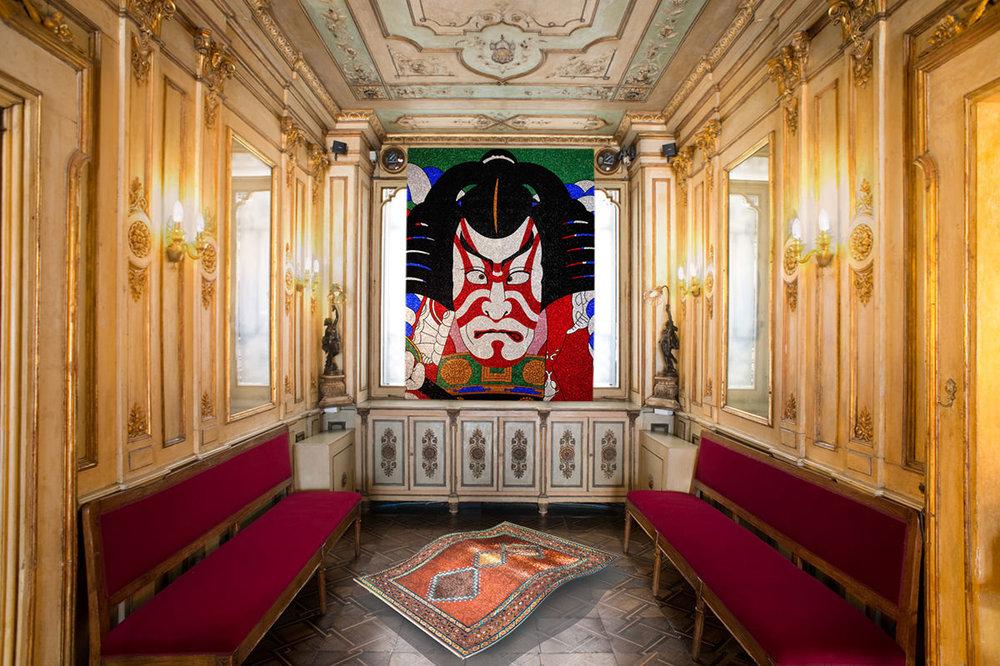 Art moderne dans le Caffé Florian