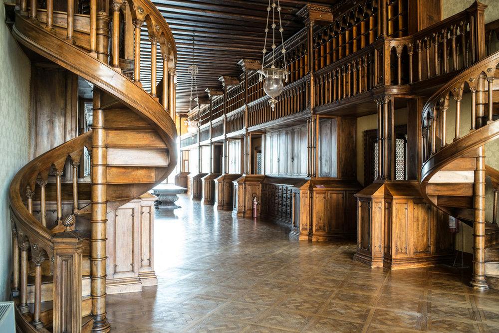 Le dernier étage de Palazzo Franchetti