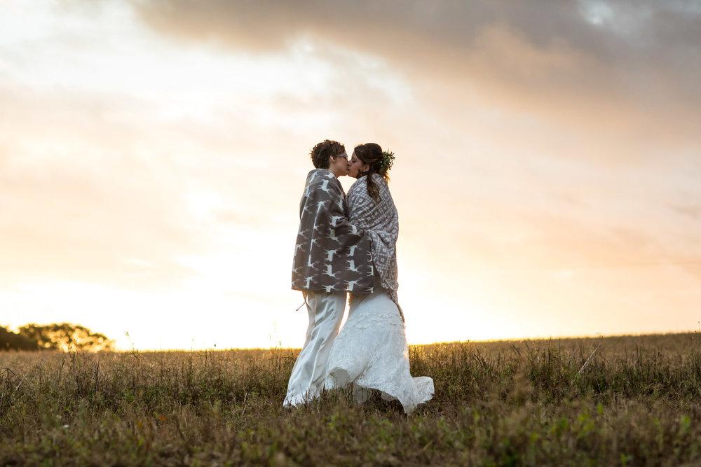 Jessie & Tamsin  Hendra Barns, Cornwall
