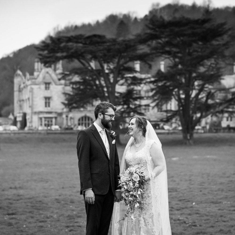 Kirsten & Tom  Dumbleton Hall