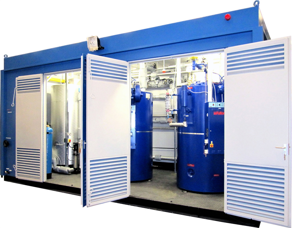 Skid Mounted Systems and Plant Rooms — Concord Boiler Engineering Ltd.