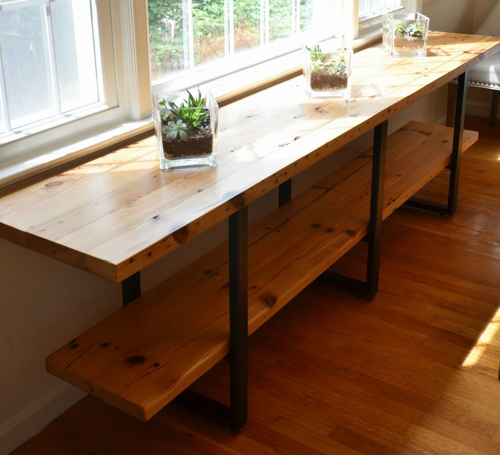 Reclaimed Timber Buffet Table