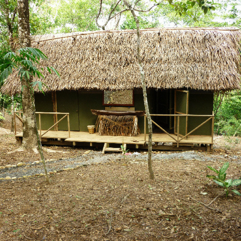 One of the small Lodges