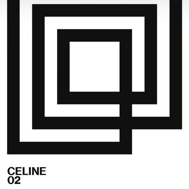 Design is everywhere! @celine 19 janvier 2919 #celine #pfw #design #designgraphic #hedislimane #inspiration #dreamer #dreamer_paris #paris