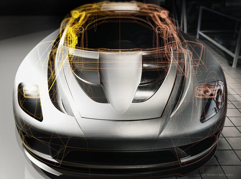 Från CAD till faktisk bil.