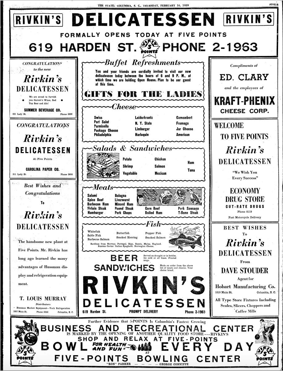 Rivkin's ad 1932