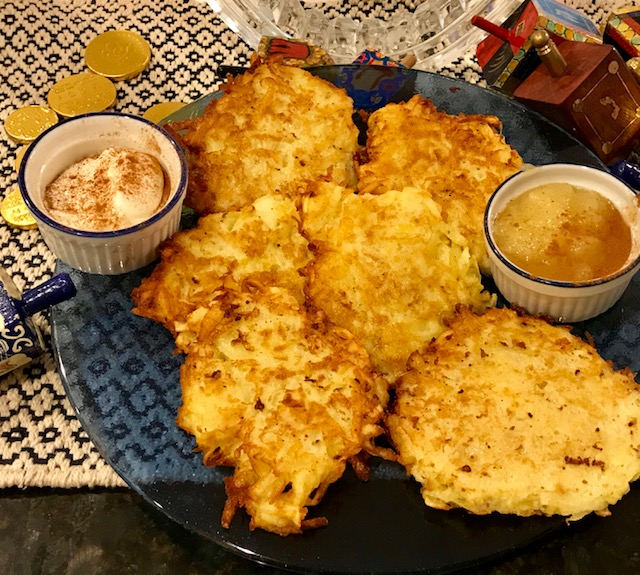 Mom's latkes