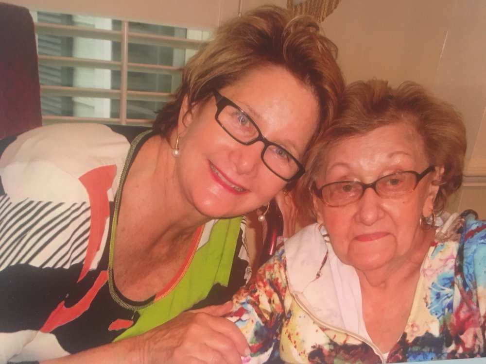 Sandra and her mother, Annette Altman.