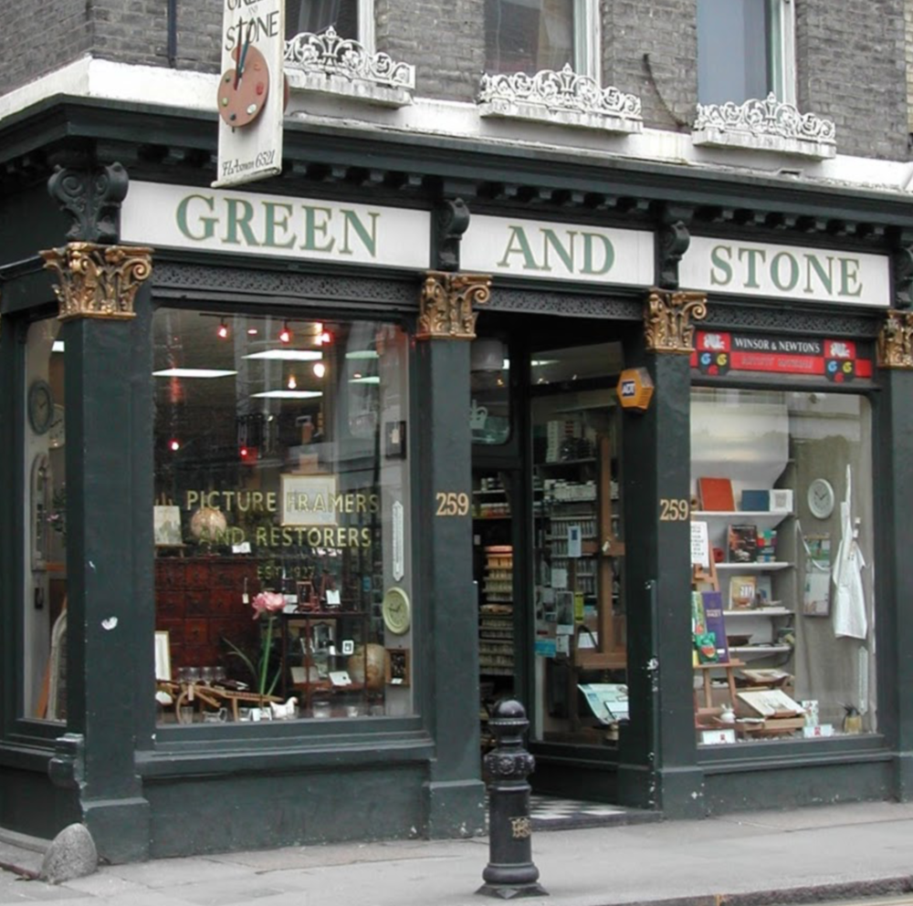 Green & Stone - where artists of every variety stock up...