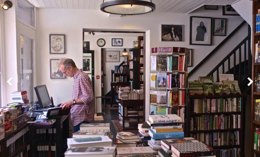 John Sandoe Books - time stands still