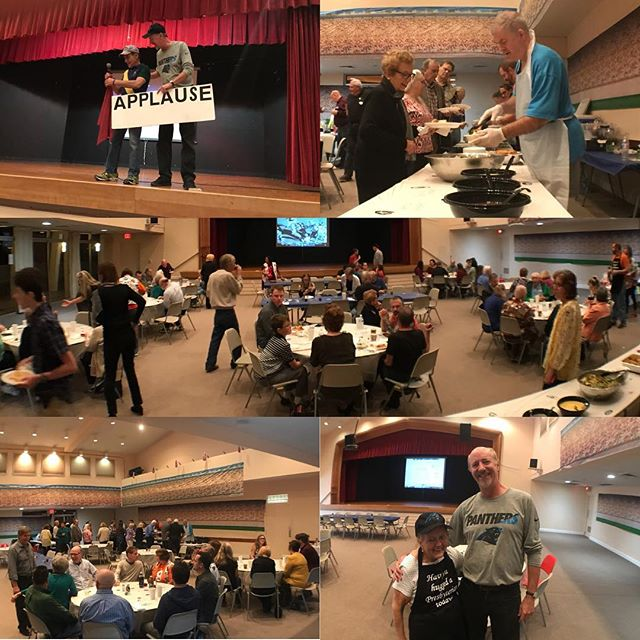Deacon's Spaghetti Dinner was a success! #wedospaghetti