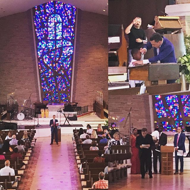 Today Reverend Dr. Ben Sorensen visited The Sanctuary Church and helped with our baptisms and gave a sermon on the Good Samaritan Luke 10:25-37. Thank you, Dr. Sorensen for the homelessness endeavors that you have initiated in our community. The Sanctuary Church will walk with you to create a loving world.