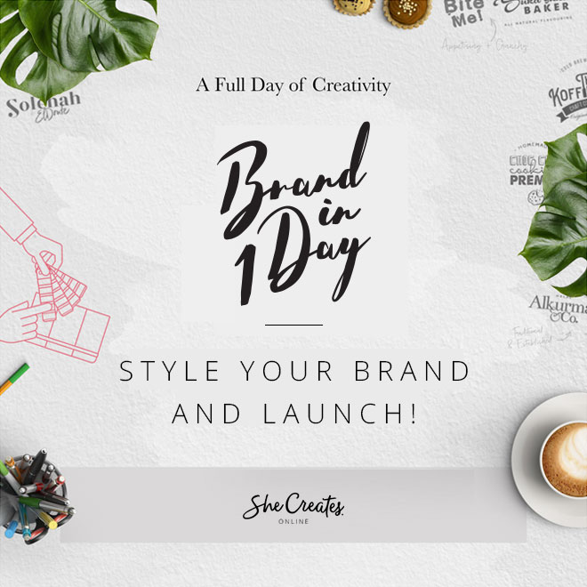 Brand in 1 Day with SheCreates.online: Style your Brand and Launch!