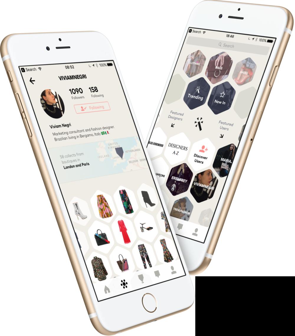 London social fashion shopping app