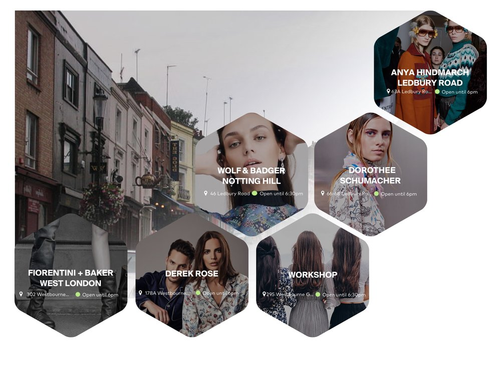 Notting Hill Shopping Guide App