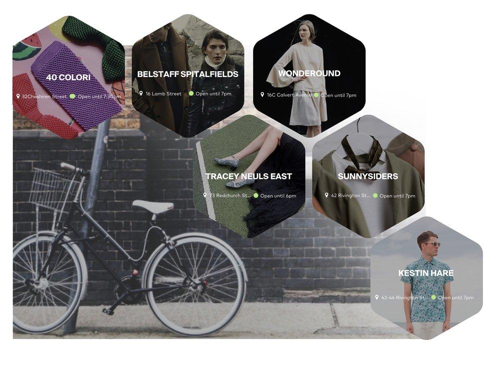 Marylebone Shopping Guide App