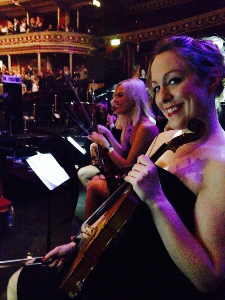 Libby at The Royal Albert Hall with Ne-Yo