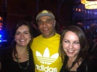 w/Goldie&Traf Sinf 4 TED event@Kings Place