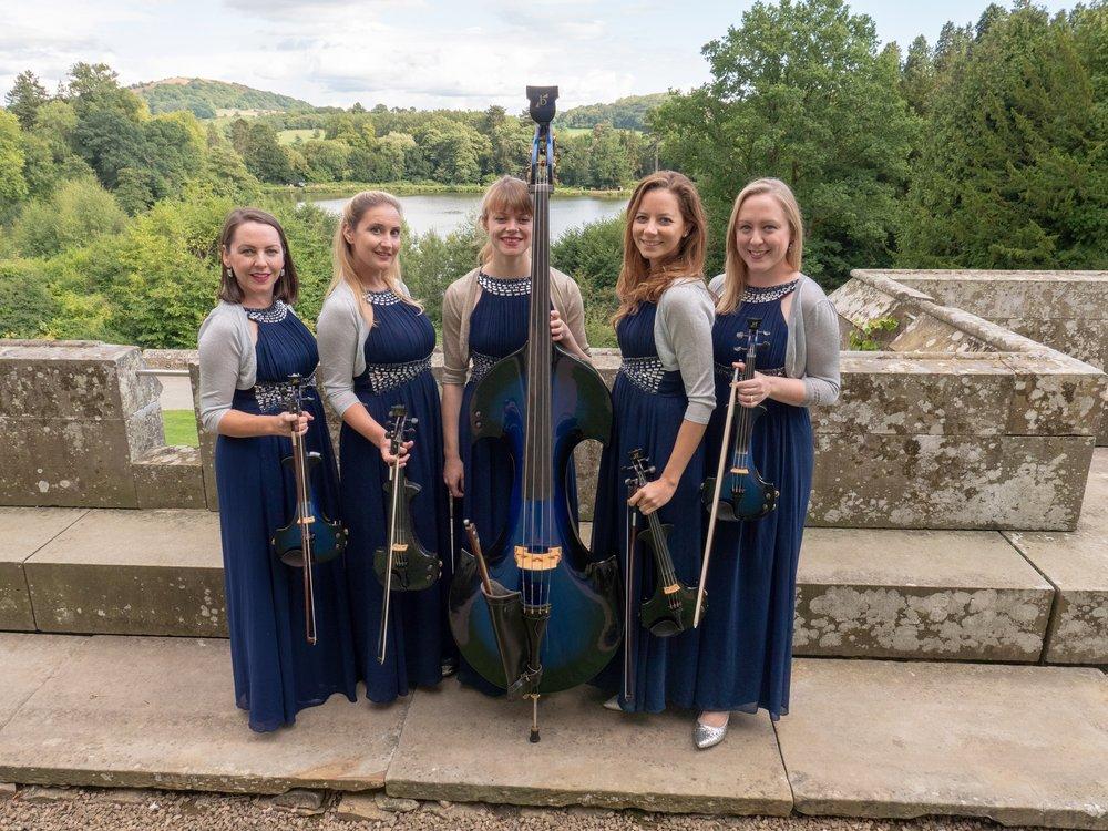 Our Electric Quintet Eastnor Castle