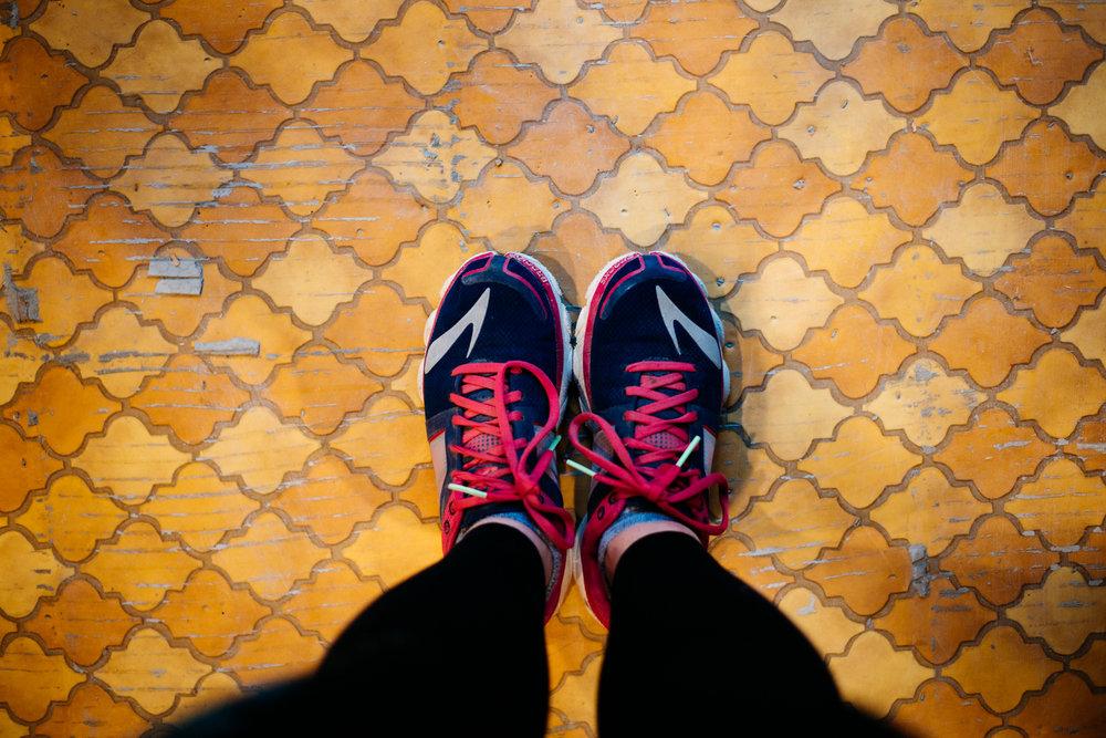 Floors of 1976 past...nice pick mom.