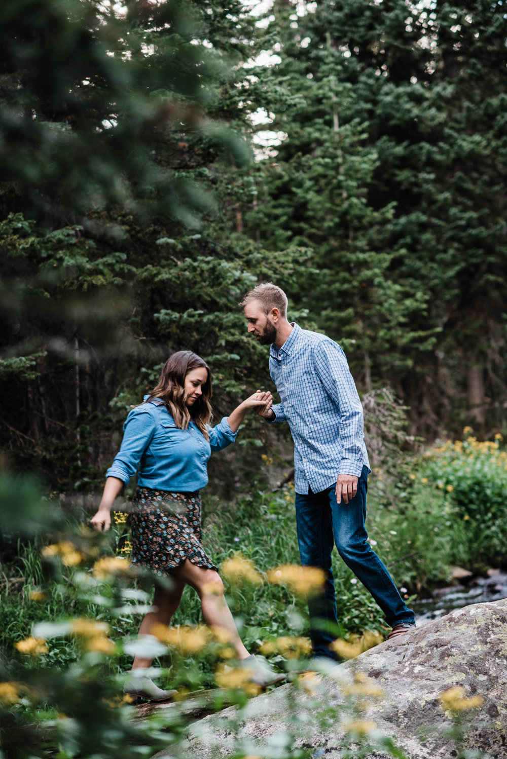 Indian Peaks-Brainard Lake-Colorado Engagement