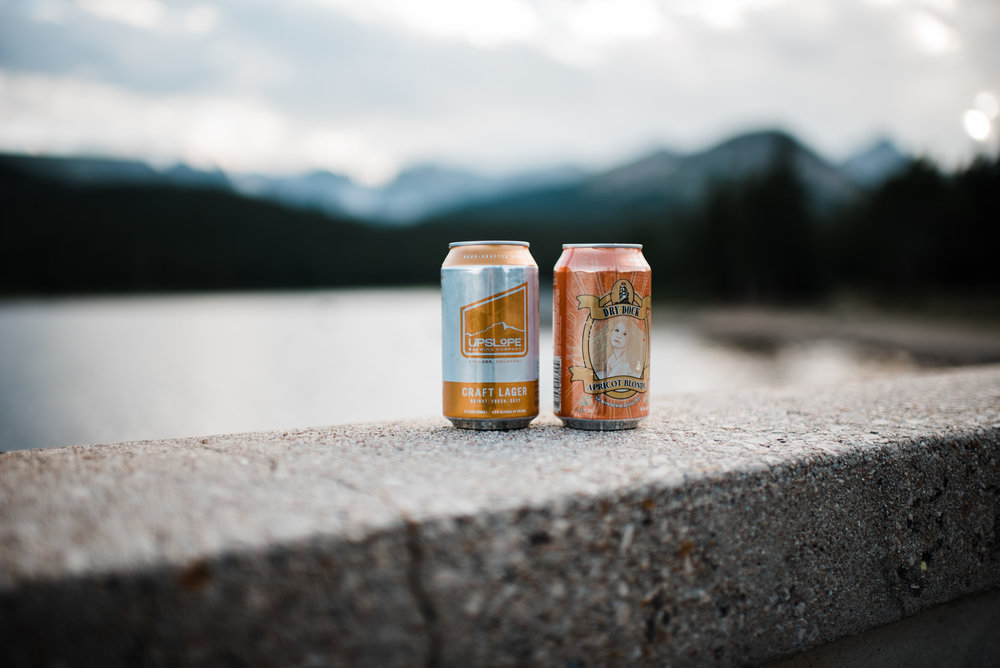 Indian Peaks-Brainard Lake-Colorado Engagement Denver Beer Co