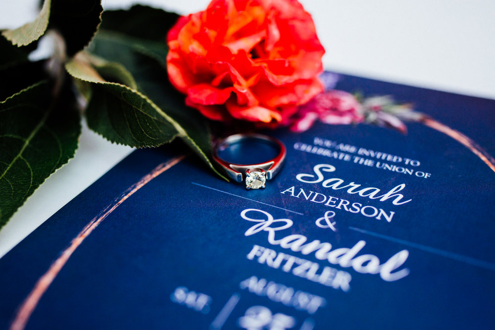 Ring shot from a gorgeous Colorado wedding photographer