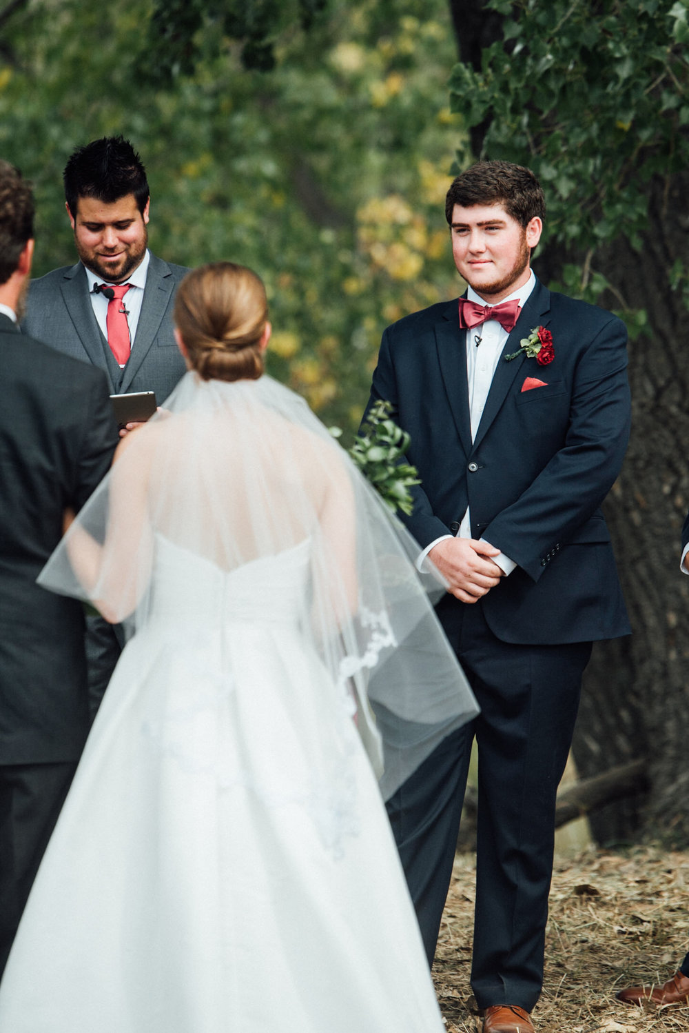 Ceremony at a beautiful Colorado wedding photographer