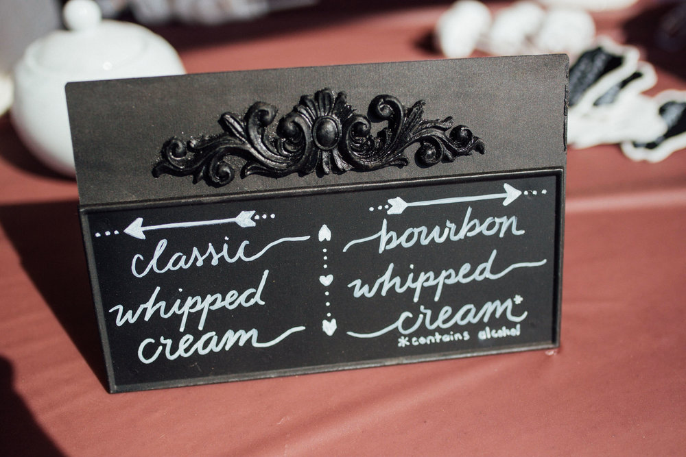 Reception details at a beautiful Colorado wedding photographer