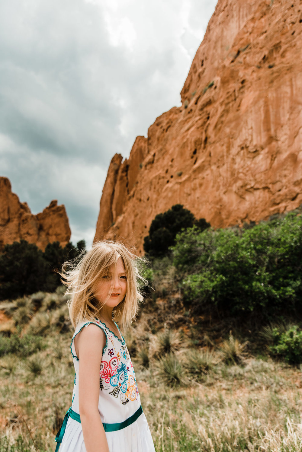 Sienna and Garden of the Gods
