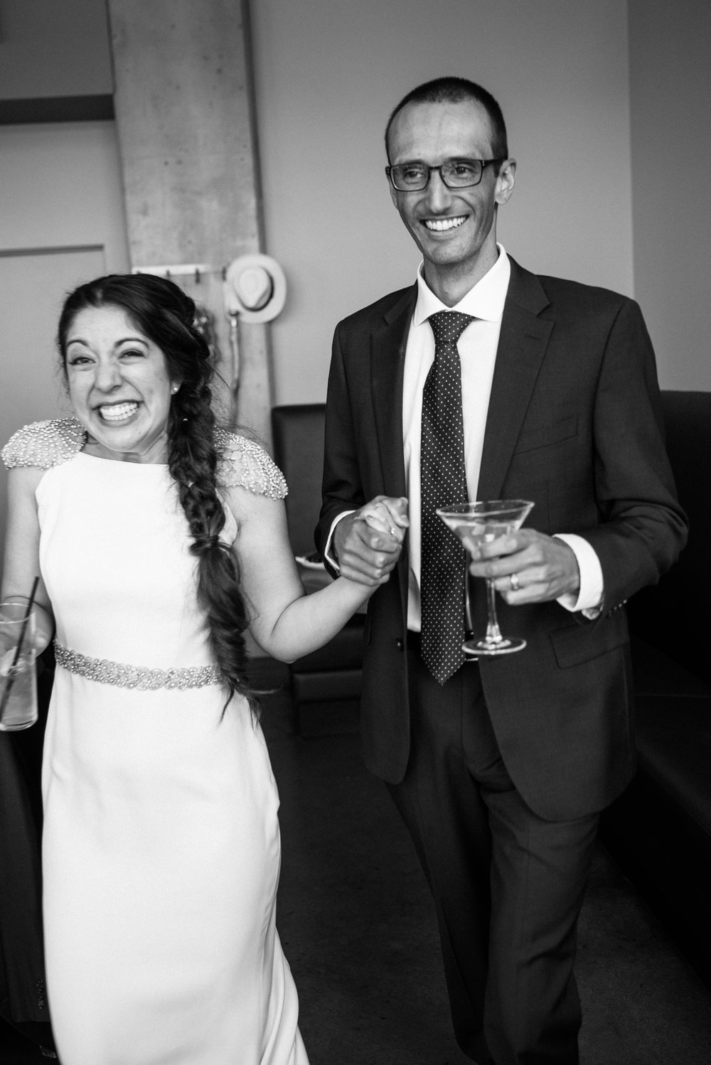 Colorado Denver Downtown Urban Wedding Colorado Wedding Photographer reception at Coohills